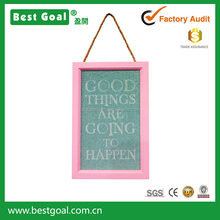 Good things are going to happen wall hanging sign