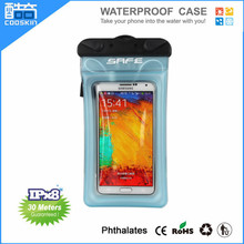 New arrival shockproof ,waterproof bag with earphone cable for mobile phone