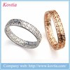 2015 new model rings fashion gold filled jewellery ring