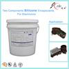Aluminium pot hardener for LED