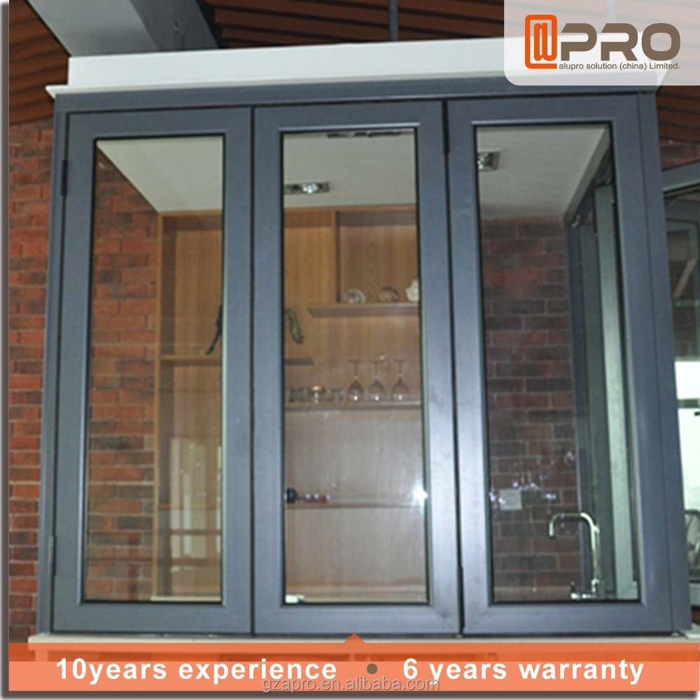 Folding glass windows bifold window aluminium window Folding window