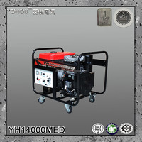 12kva ac 3 phase electric permanent magnet diesel power generator