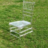 Chivari crystal wedding chairs with cushion