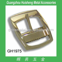 Updated metal belt buckles with pin