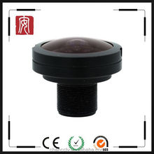 "Fuzhou manufacture 3 MP 1/1.8"" sensor 1.8mm wide angle 185 degree lens m12 fisheye lens"