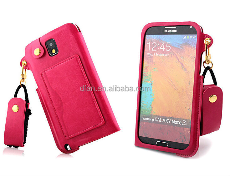 retro book leather case for samsung galaxy note 3