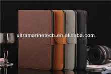 High Quality Wallet Stand retro leather case for ipad mini 2/3