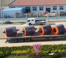 Offshore ocean surface marine EVA foam filled buoys/anchor pendant chain through pick up mooring buoys
