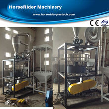 Disc type waste plastic mill