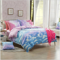 home textile city , 100% polyester bedding sets for home