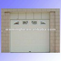 sectional door with window/overhead garage door/industrial sectional door