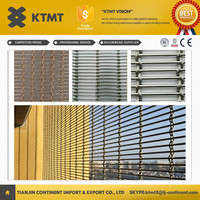 Top sale hanging room divider partition/stainless steel room divider/metal curtain(wall cladding)