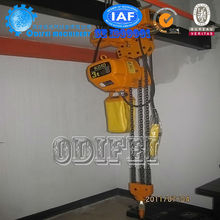 Professional crane manufacturer Small Electric proof chain hoists