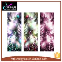 customer design long silk chiffon silk scarf silk shawl
