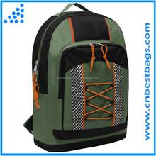 Green sporty school & outdoor bookbag Elementary school bag