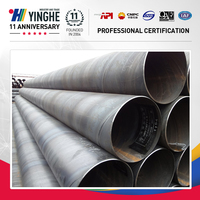 high quality large diameter welded spiral steel pipe supplier