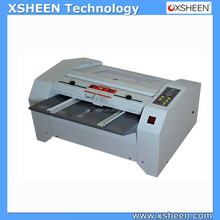small stitching and folding machine,booklet making machine,manual stapler machine,industrial book binding machine