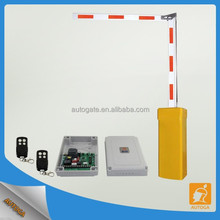 Smart parking control barrier gate motor folding boom gate