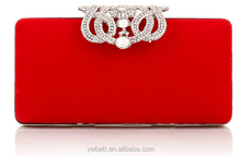wholesale elegant and crystal eneving women's clutch bag