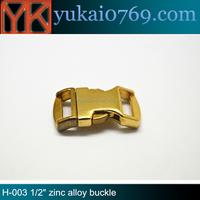 Yukai high quality metal dog collar belt buckle/metal cam buckle/metal buckle