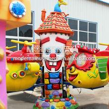 Outdoor&Indoor Big Eye Airplane Amusement Park Kids Rides