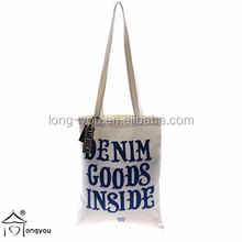 Professional factory direct sale canvas shopping tote bag