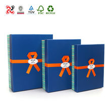 Cardborad recycled fancy paper chocolate gift packaging box