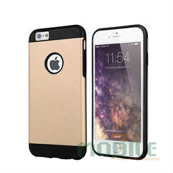 2015 Slim Hard Armor Case For iPhone 6 Case Aluminum with TPU