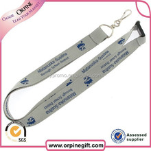 special designer polyester material lanyard parts with accessories