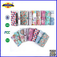 Elegant Vintage Floral Style Wallet PU Leather Flip Case Cover Pouch For iPhone 6
