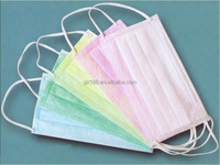 non woven female face mask, driving face mask, surgical face mask