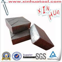 XINHUA segmento de diamante para el granito
