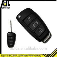 yuyao abluo car key for A6L 3 buttons modification without chip