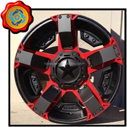 5 Hole and silver/black/chrome/white/Gray Finishing car alloy wheel108