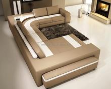 Modern leather sofa U shape sofa set F8024#