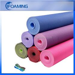 shenzhen 6mm tpe yoga mat factory