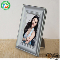 Popular best selling metal double photo frame