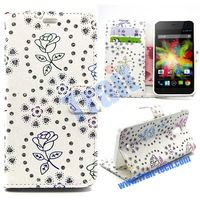 Full Body,Stand,Card Holder,Magnetic Buckle,Double Sides, Leather Case for Wiko Bloom