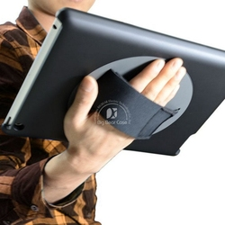 360 rotate leather flip cover for ipad 4 case