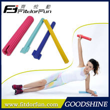 Hot Sale Patented Dia.4.7cm Colored Non-toxic Materials Changeable Home Exercise Equipment Power Twister Bar