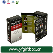 recycle 100% quality hair extension manufacturers paper box