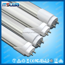 led light led tube new technology china supplier T8 led tube Factory price CE ROHS approved 100~120lm/w T5 and T8 Compatible