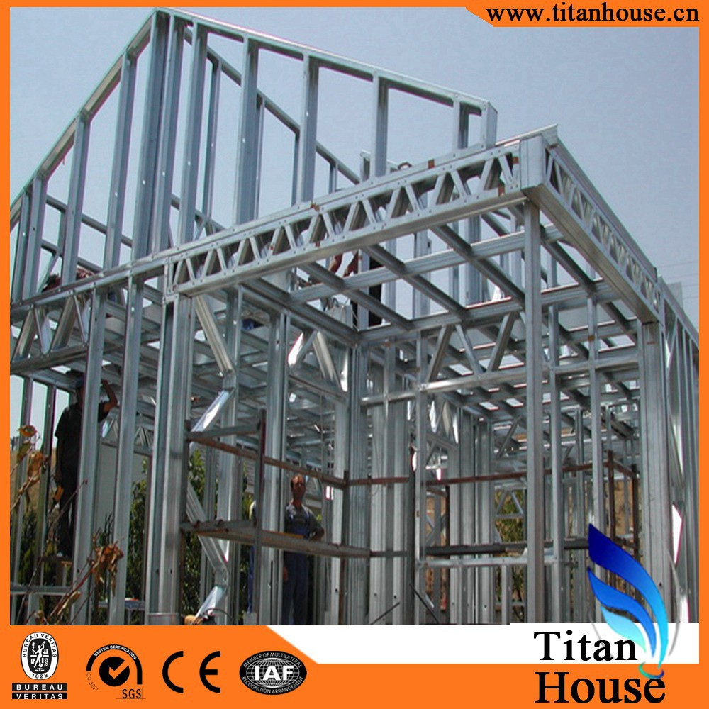Low cost china prefabricated homes modern design for Are steel homes cheaper to build