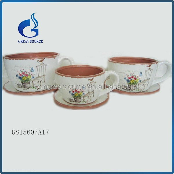 Modern Indoor Plant Pots Decorative Ceramic Flower Pots