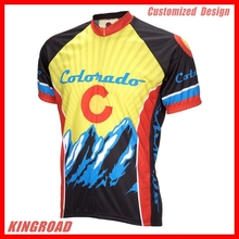 Good Quality Custom Design Cycling Jersey and Bib Shorts