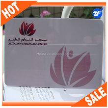 PVC full color printing hot foil business card cheap