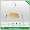 Wholesale metal clips pants hanger/skirt racks