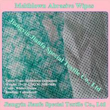 Abrasive Wet Wipes use meltblown nonwoven