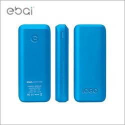 Portable power case for iphone 6, oringal ebai eva6000 power bank, multi colors with unique gift package