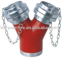 Aluminio storz de agua contra incendios divisor